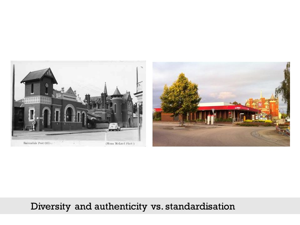 Diversity and authenticity vs. standardisation