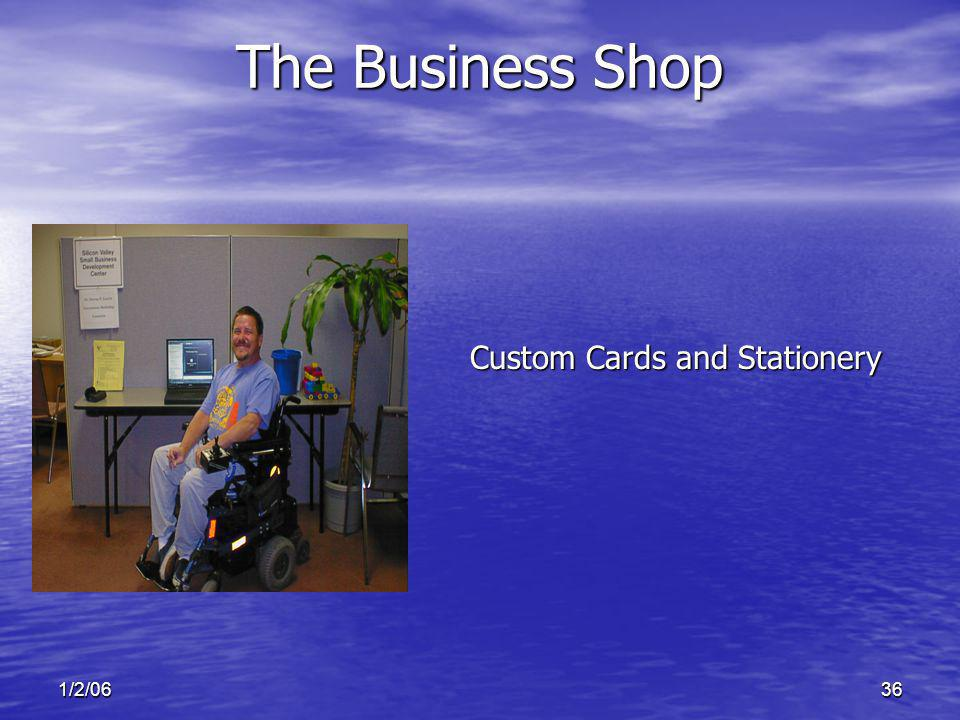1/2/0636 Custom Cards and Stationery The Business Shop