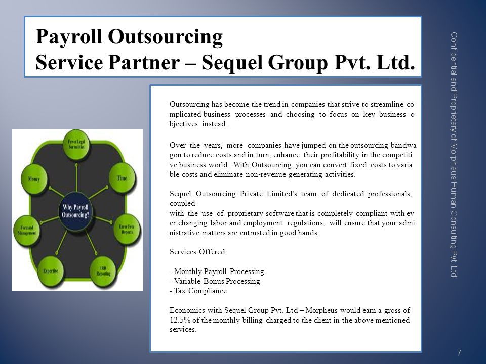 Outsourcing has become the trend in companies that strive to streamline co mplicated business processes and choosing to focus on key business o bjectives instead.