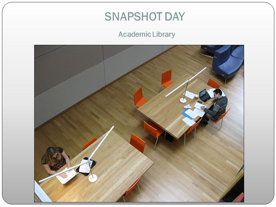 SNAPSHOT DAY Academic Library