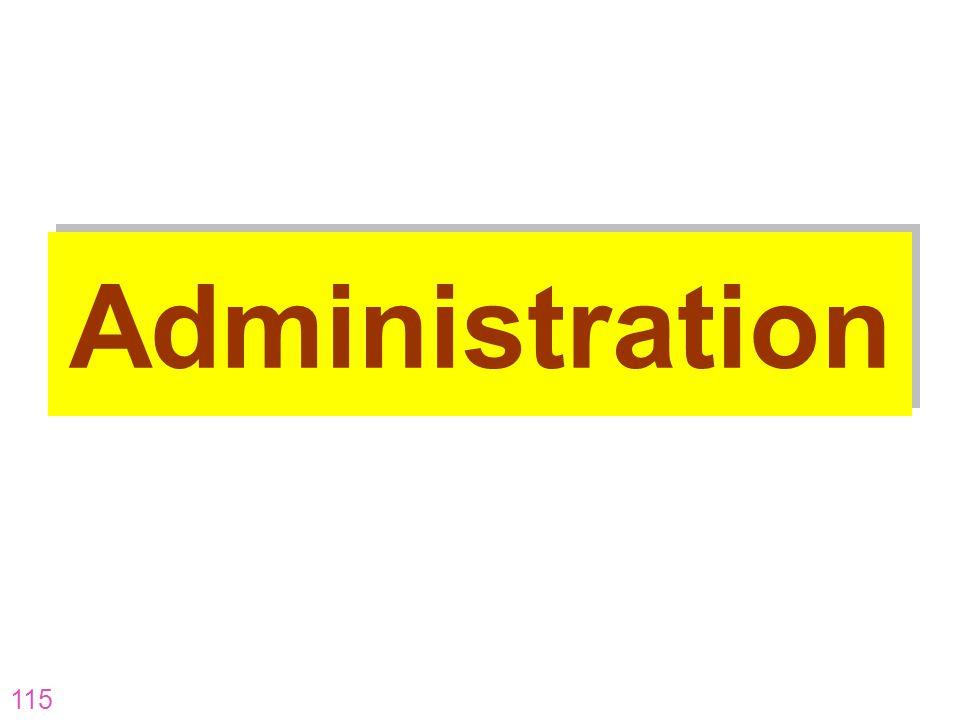 115 Administration