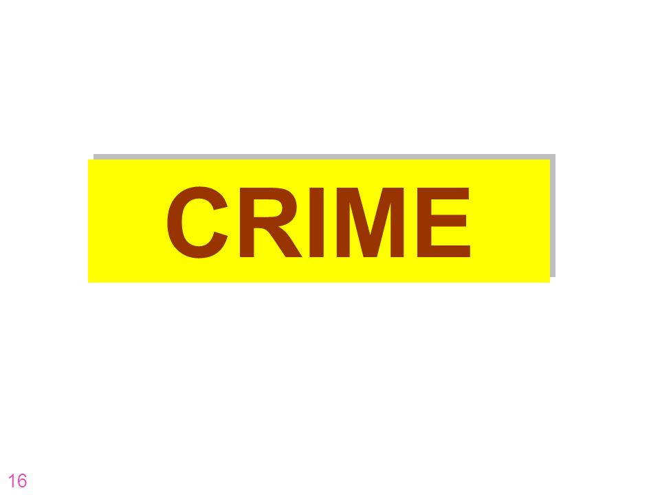 16 CRIME