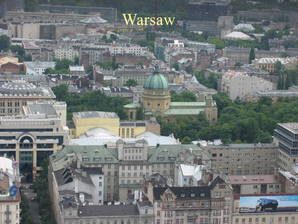 Day 3 Warsaw.Excursion to Niepokalanow Guided sightseeing of Warsaw includes the CATHEDRAL OF ST.