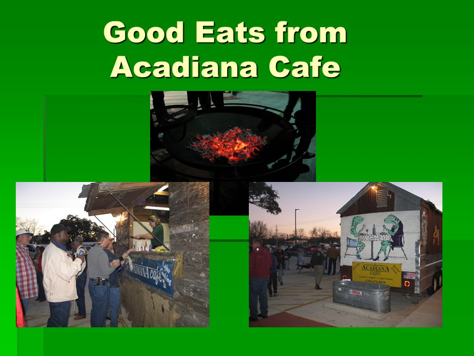 Good Eats from Acadiana Cafe