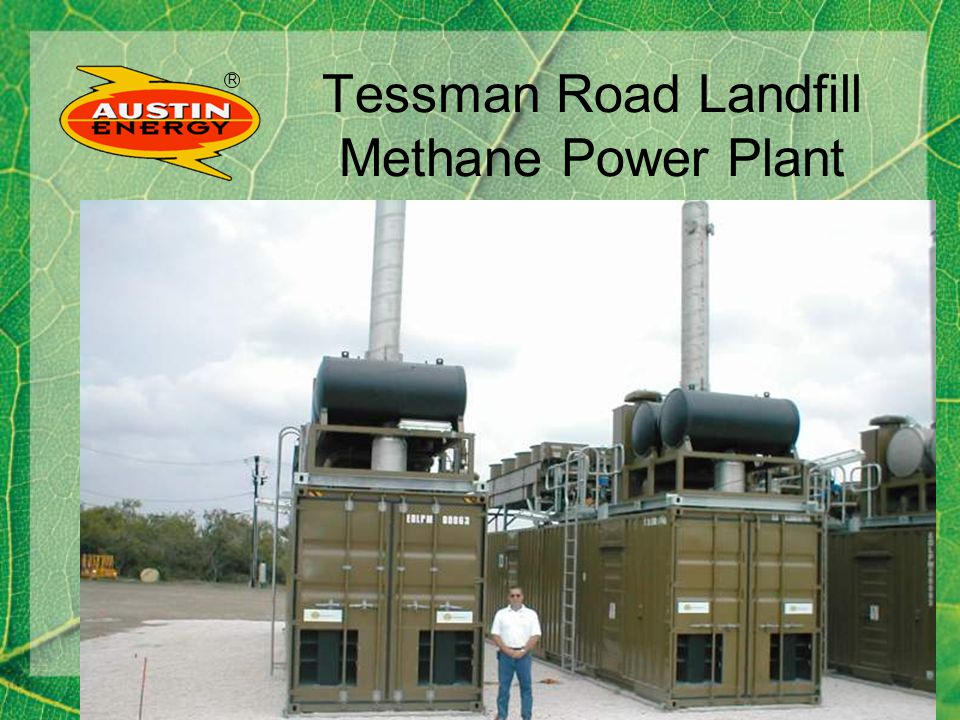 R Tessman Road Landfill Methane Power Plant
