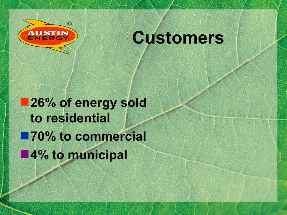 R Austin Energy Electric Bill Base Rate 6.44 cents x kWh plus Fuel charge = $0.033 x kWh or GreenChoice charge = $0.035 x kWh