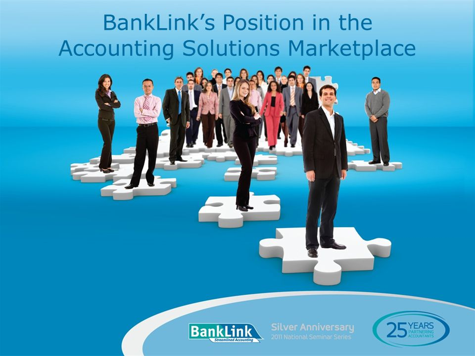 BankLinks Position in the Accounting Solutions Marketplace