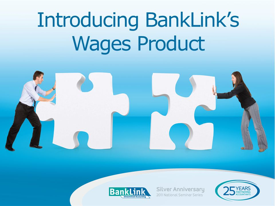 Introducing BankLinks Wages Product