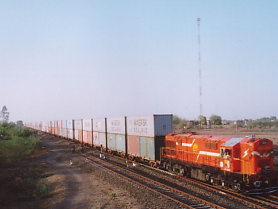 DSC trains Routes on IR
