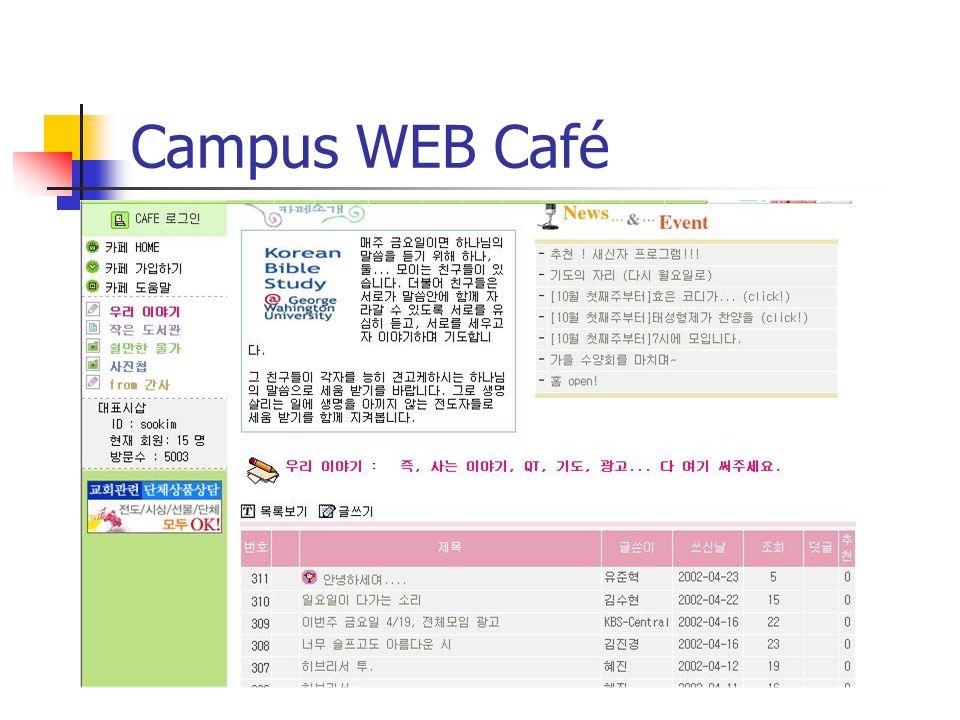 Campus WEB Café