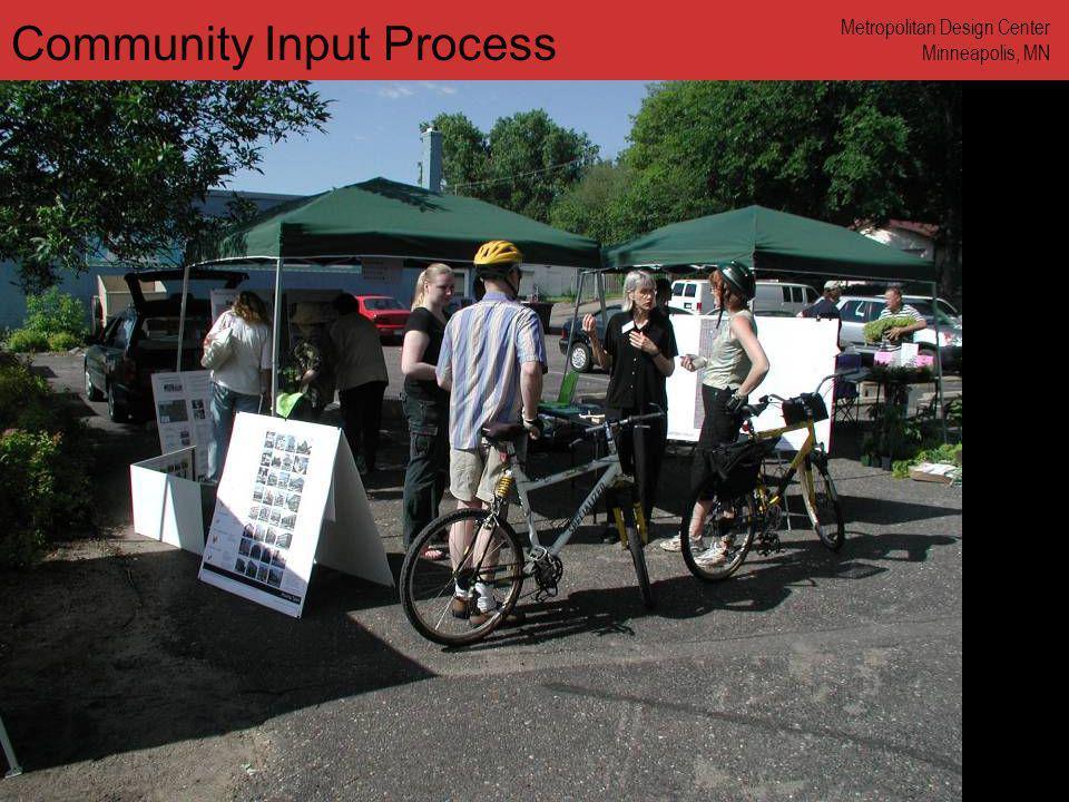 www.annforsyth.net Community Input Process Metropolitan Design Center Minneapolis, MN