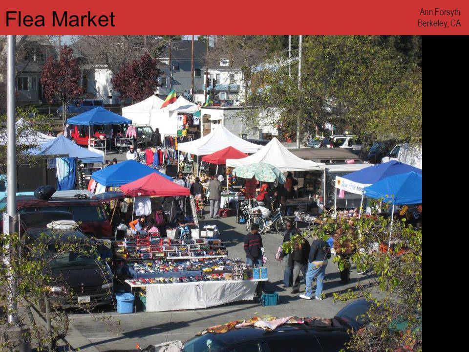www.annforsyth.net Flea Market Ann Forsyth Berkeley, CA