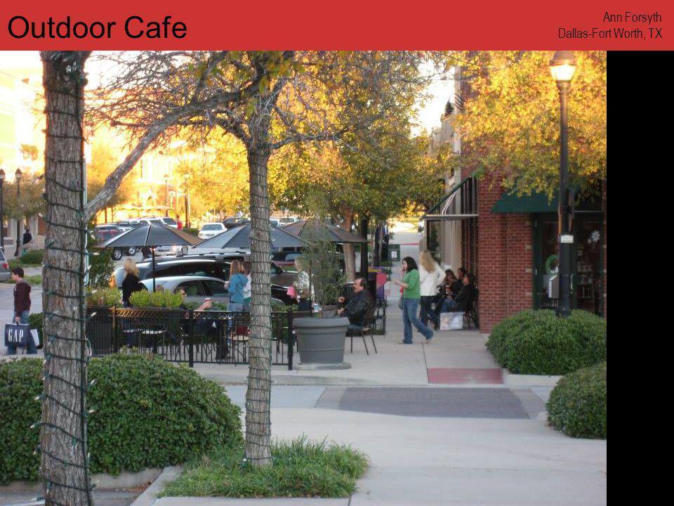 www.annforsyth.net Outdoor Cafe Ann Forsyth Dallas-Fort Worth, TX