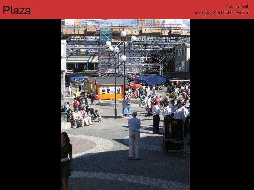 www.annforsyth.net Plaza Ann Forsyth Vällingby, Stockholm, Sweden