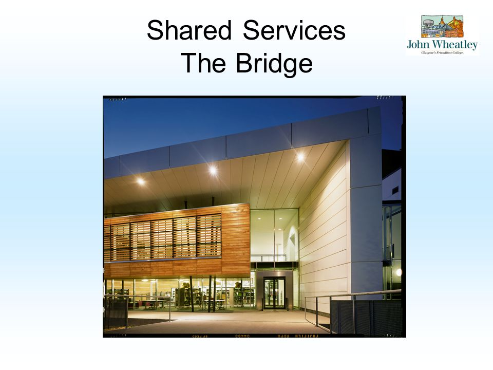Shared Services The Bridge