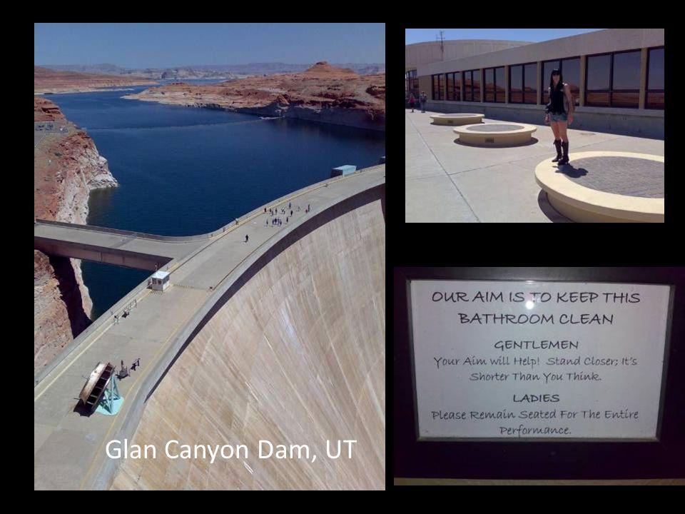 Glan Canyon Dam, UT