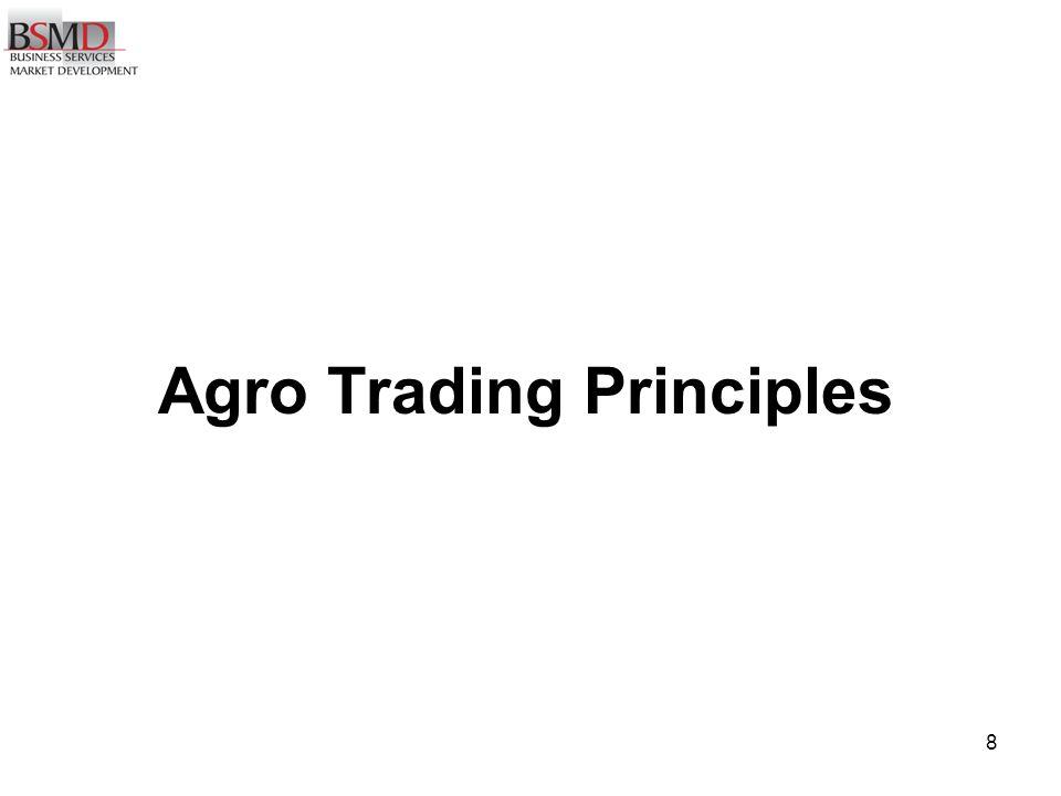 8 Agro Trading Principles