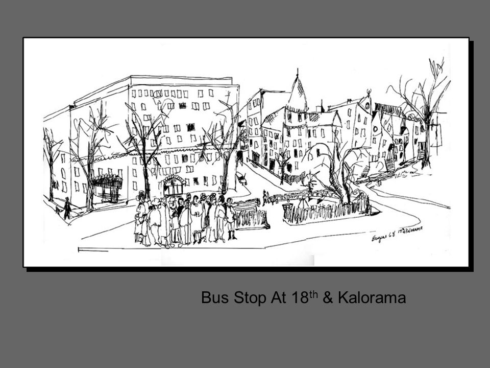 Bus Stop At 18 th & Kalorama