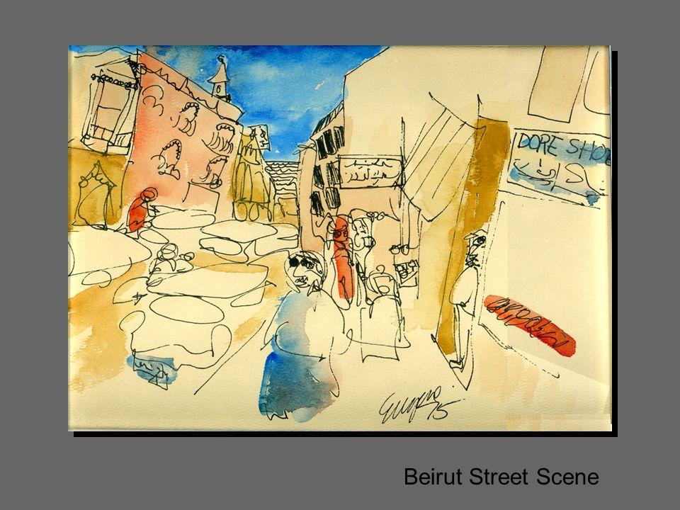 Beirut Street Scene