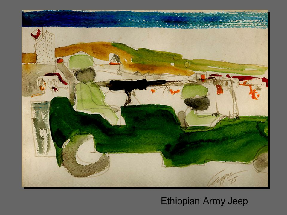 Ethiopian Army Jeep