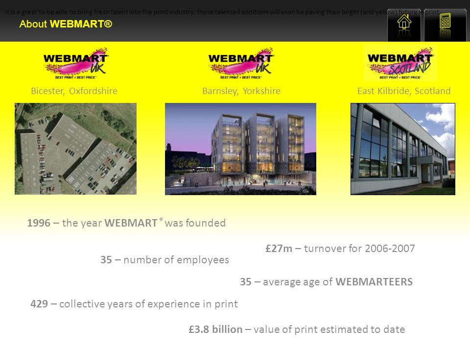 WEBMART ® has seen an extraordinary level of growth since its creation.