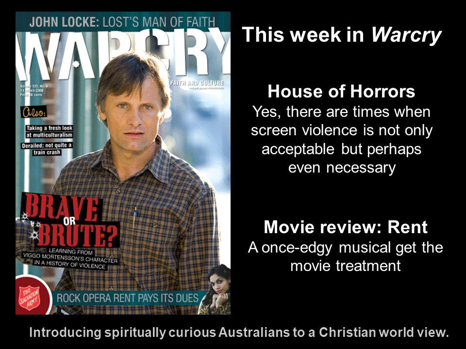 Introducing spiritually curious Australians to a Christian world view.