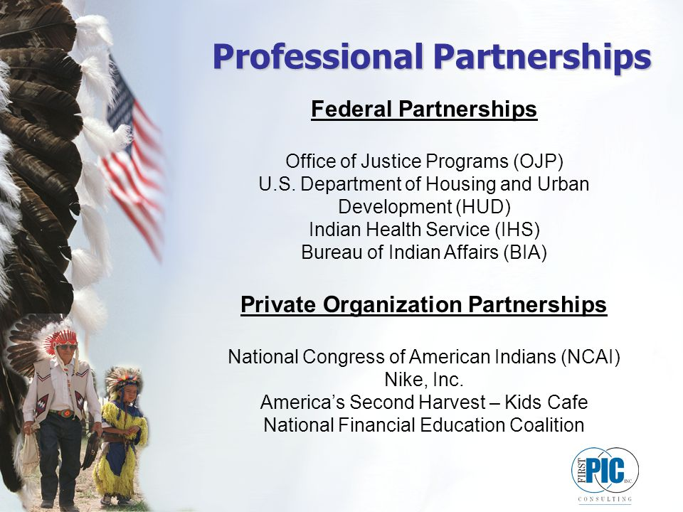 Professional Partnerships Federal Partnerships Office of Justice Programs (OJP) U.S.