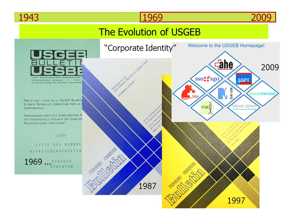 The Evolution of USGEB Corporate Identity