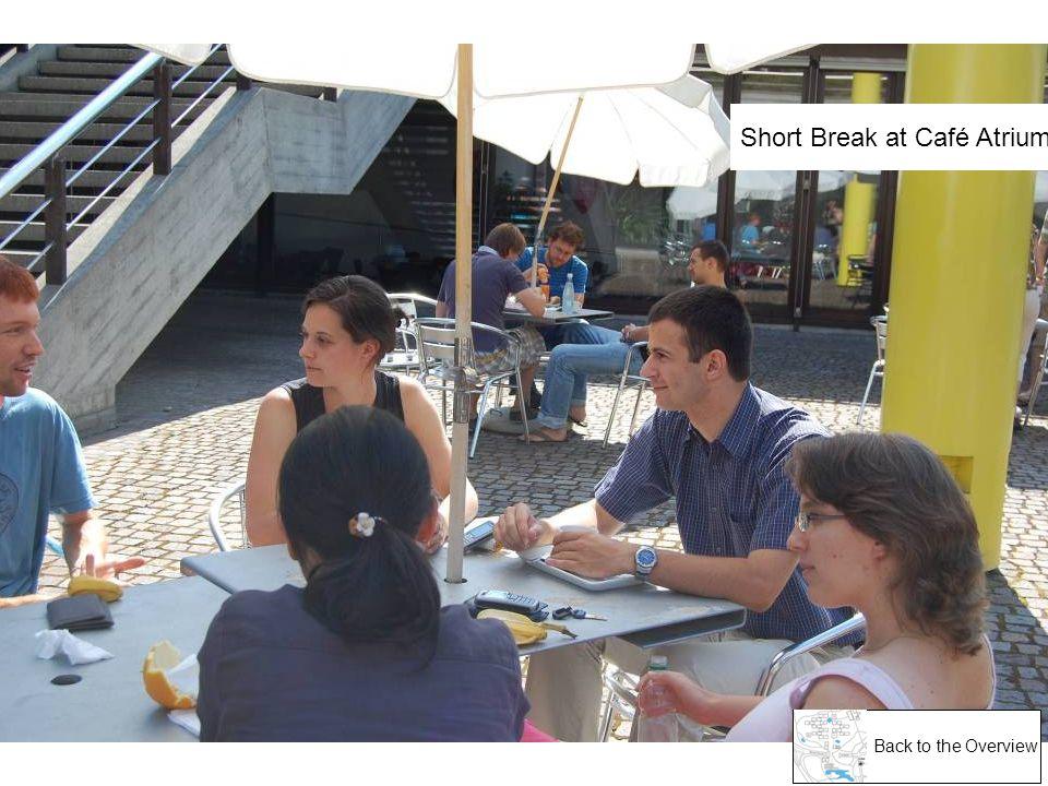 Short Break at Café Atrium