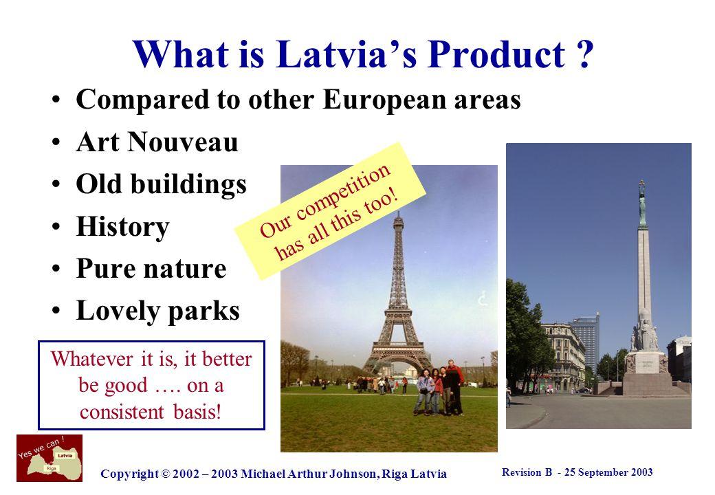 Revision B - 25 September 2003 Copyright © 2002 – 2003 Michael Arthur Johnson, Riga Latvia Whats the big deal .