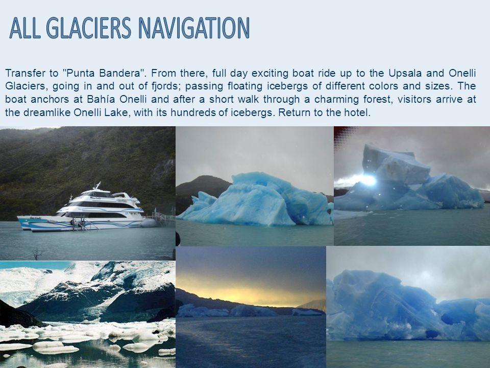 Transfer to Punta Bandera .