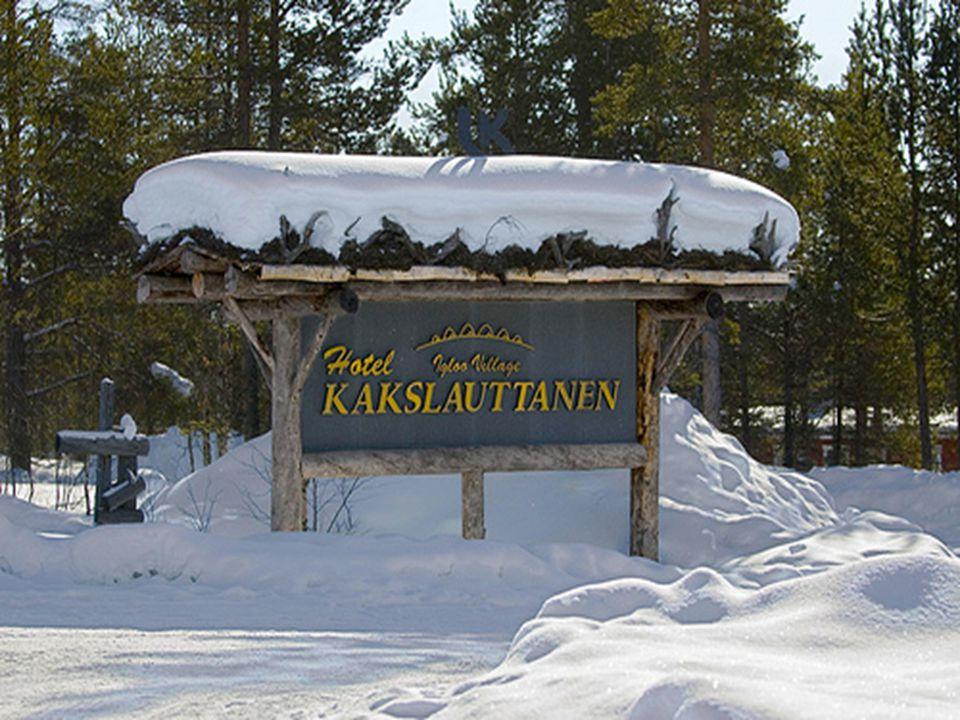 Sauna in ice.Hotel Kakslauttanen.