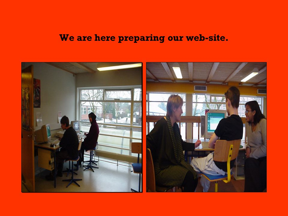 We are here preparing our web-site.