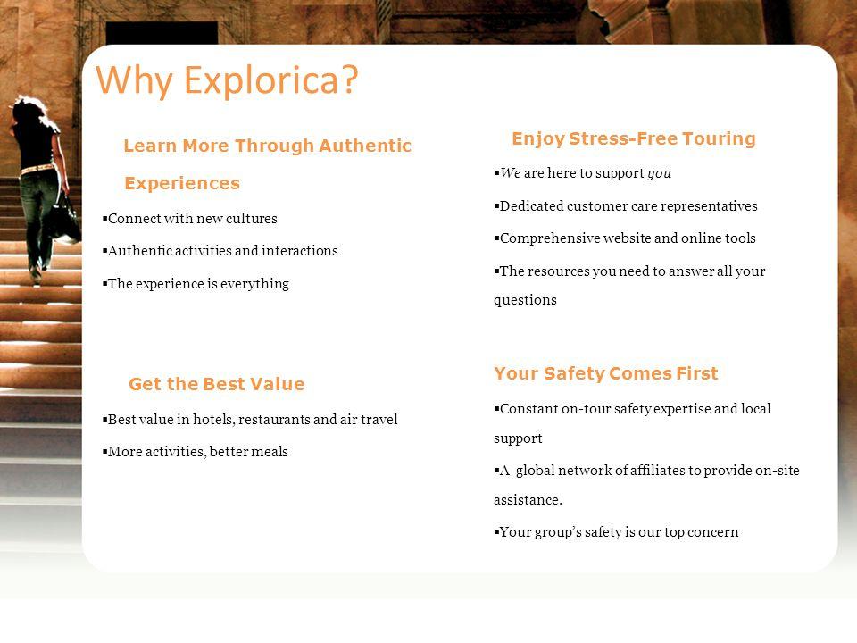Why Explorica.