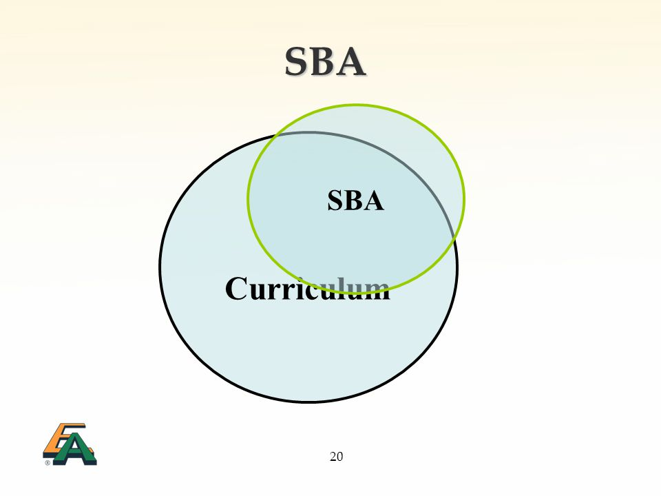 20 SBA Curriculum SBA