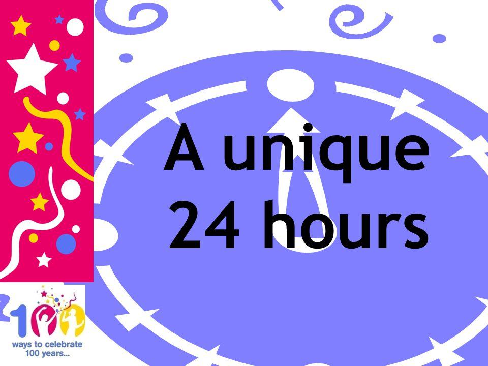 A unique 24 hours