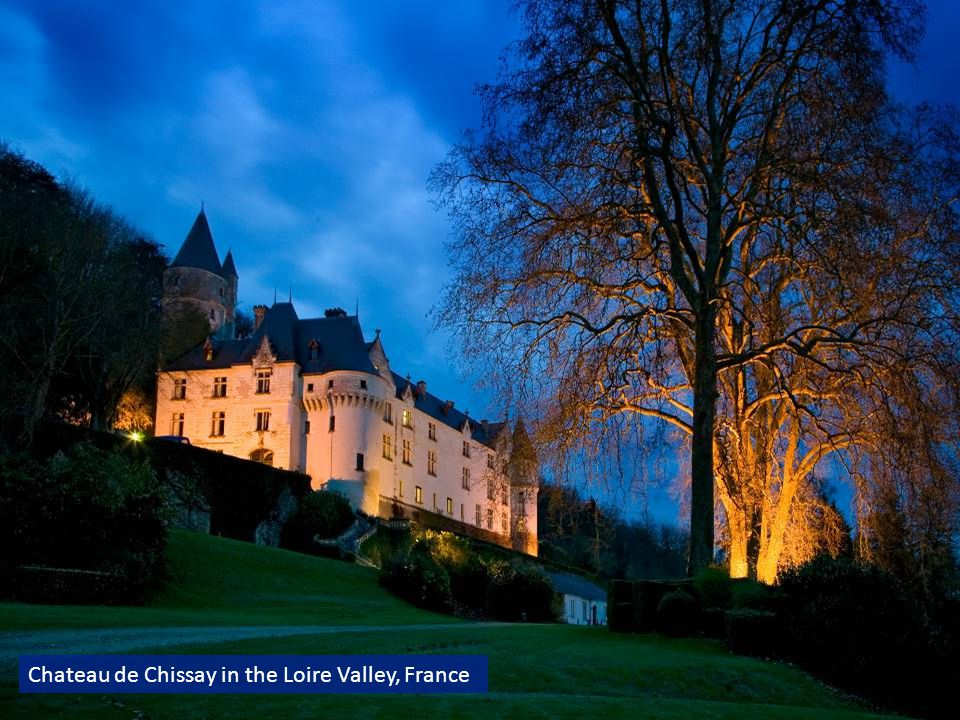 Chateau de Chissay in the Loire Valley, France