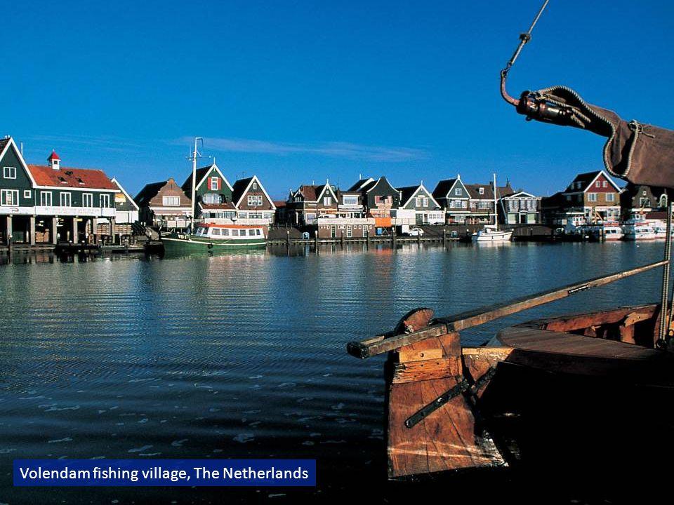 Volendam fishing village, The Netherlands