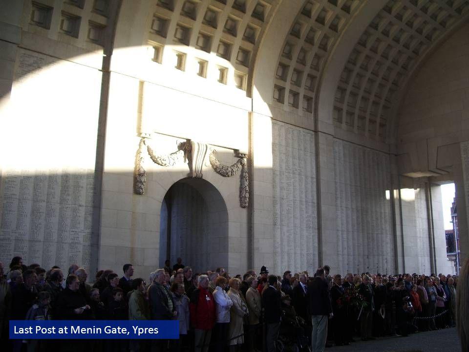 Last Post at Menin Gate, Ypres