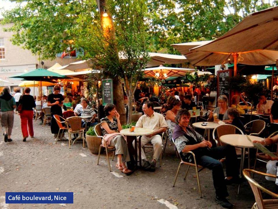 Café boulevard, Nice
