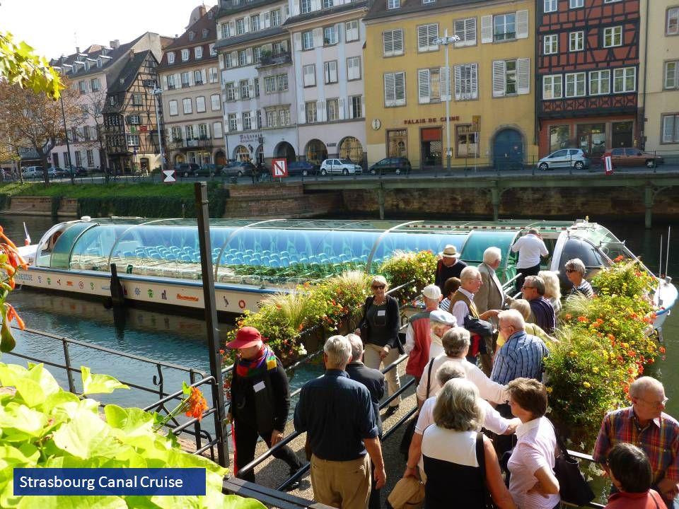 Strasbourg Canal Cruise