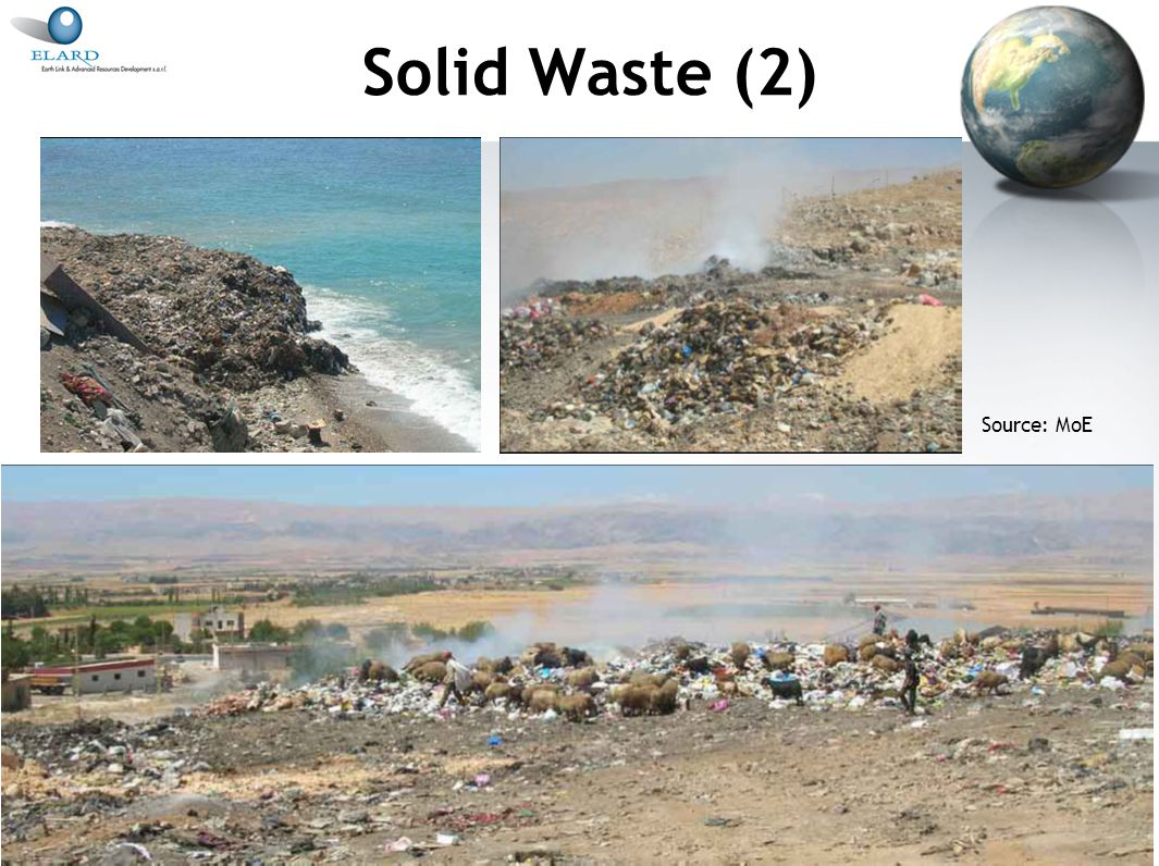16 Water (5) Limited progress in solid waste and wastewater management does not help alleviate impacts on water resources Limited control on industrial and agricultural discharges No systematic monitoring of quality of water resources