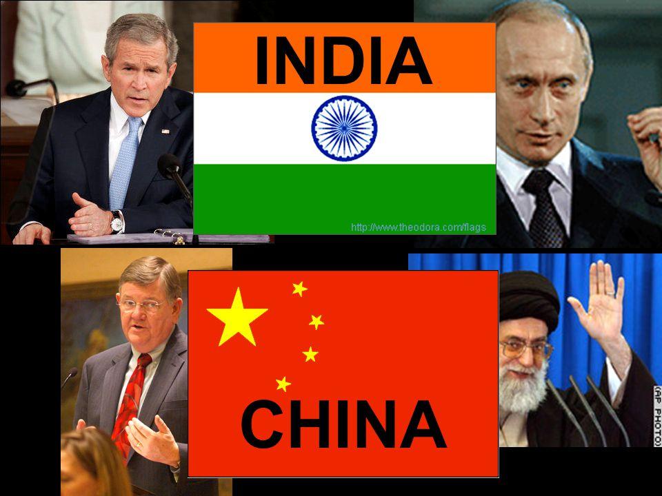 20 CHINA INDIA