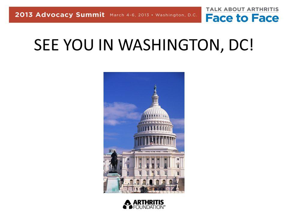 SEE YOU IN WASHINGTON, DC!