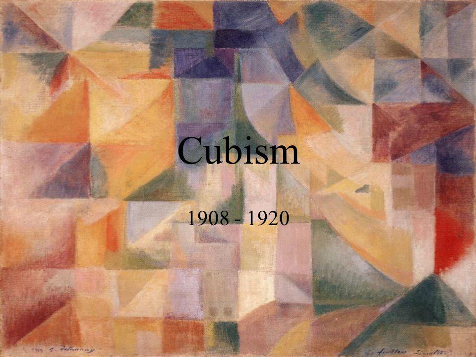 Cubism 1908 - 1920