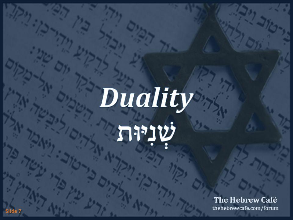 The Hebrew Café thehebrewcafe.com/forum Slide 7
