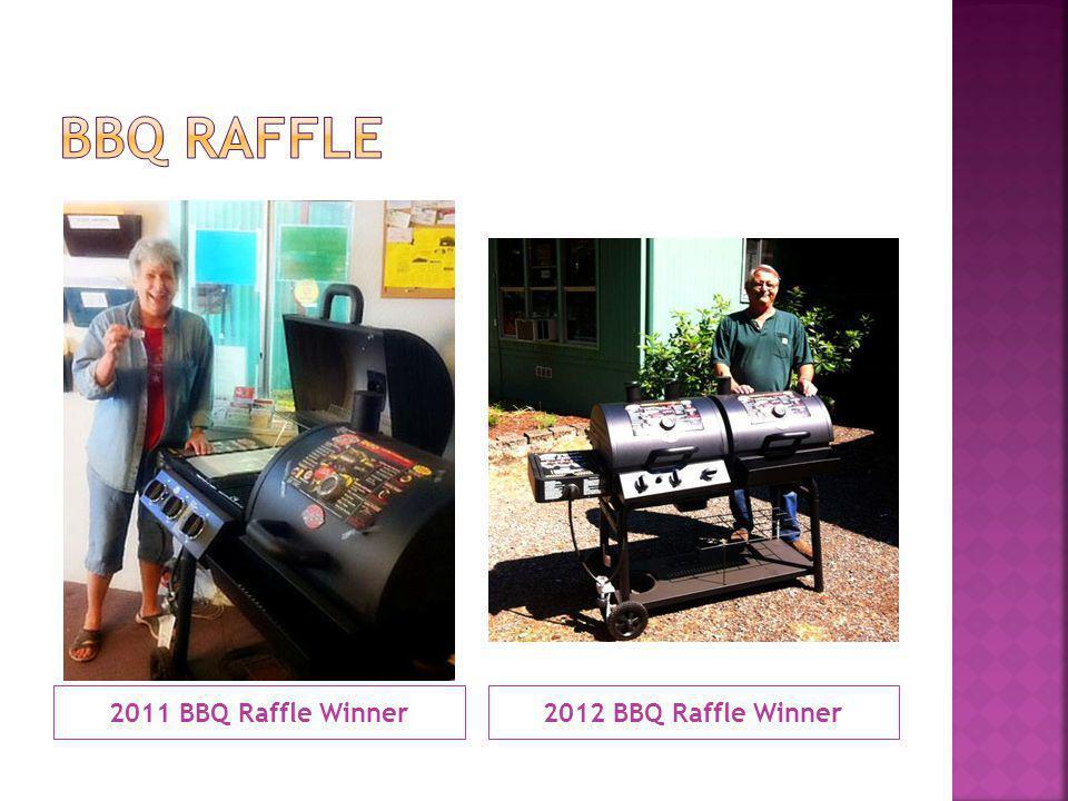 2011 BBQ Raffle Winner2012 BBQ Raffle Winner