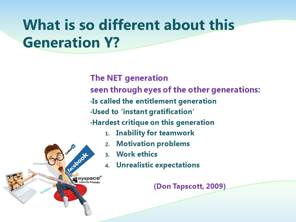 problems with generation y