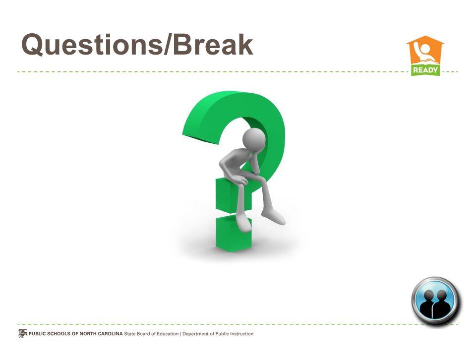 Questions/Break