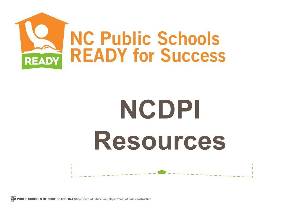 NCDPI Resources